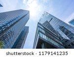 modern office building in... | Shutterstock . vector #1179141235