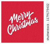 merry christmas and happy new... | Shutterstock .eps vector #1179175432