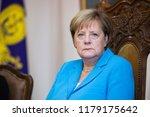 german chancellor angela merkel ...   Shutterstock . vector #1179175642