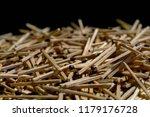 wooden match. matches for... | Shutterstock . vector #1179176728