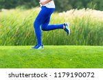 lower body of a woman sprinting ... | Shutterstock . vector #1179190072
