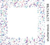 confetti of two colored rhombs... | Shutterstock .eps vector #1179191788
