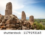 prehistoric stone statues in... | Shutterstock . vector #1179193165