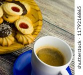 coffee and different types of... | Shutterstock . vector #1179216865