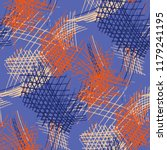 various hatches. seamless... | Shutterstock .eps vector #1179241195