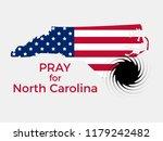 pray for north carolina.... | Shutterstock .eps vector #1179242482