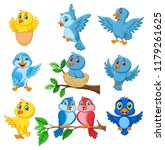 Cartoon Happy Birds Collection...