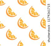 orange seamless vector pattern. ... | Shutterstock .eps vector #1179261715