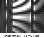 silver aluminium stripe pattern