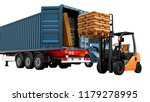 modern concept of loading and... | Shutterstock . vector #1179278995