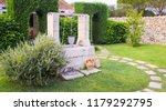 summer season in italy. desing... | Shutterstock . vector #1179292795