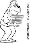 black and white illustration of ... | Shutterstock . vector #1179305158