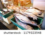 tomari fish market in naha city ... | Shutterstock . vector #1179323548