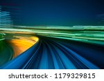 motion blur from yurikamome... | Shutterstock . vector #1179329815
