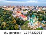 aerial view of saint andrew... | Shutterstock . vector #1179333088