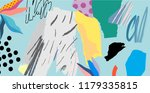creative art header with... | Shutterstock .eps vector #1179335815