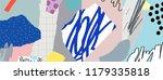creative art header with... | Shutterstock .eps vector #1179335818