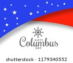 illustration of columbus day... | Shutterstock .eps vector #1179340552
