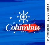 illustration of columbus day... | Shutterstock .eps vector #1179340555