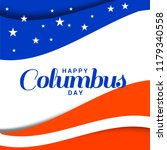 illustration of columbus day... | Shutterstock .eps vector #1179340558