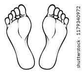 illustration of body part ... | Shutterstock .eps vector #1179340972