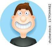 a cartoon illustration of a... | Shutterstock .eps vector #1179344482