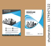 brochure template layout  cover ... | Shutterstock .eps vector #1179347122