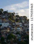 favela rio de janeiro   Shutterstock . vector #1179355465
