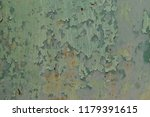 Small photo of Peeling paint color engender rusted, Texture metal with abrasion