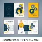 cover book design set  human... | Shutterstock .eps vector #1179417502
