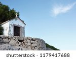 small chapel near the... | Shutterstock . vector #1179417688