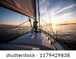 Sailing At Sunset. A View From...