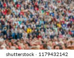 blurred backround crowd of... | Shutterstock . vector #1179432142