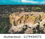 Top Of Castle Rock In Castle...