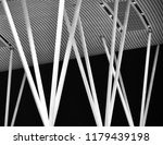 stylish white metallic pillars... | Shutterstock . vector #1179439198