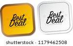 best deal stickers | Shutterstock .eps vector #1179462508