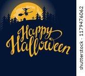 happy halloween vector... | Shutterstock .eps vector #1179476062