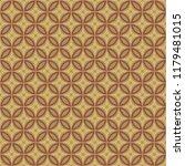 decorative seamless vector... | Shutterstock .eps vector #1179481015