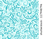 vector seamless winter pattern... | Shutterstock .eps vector #117948796