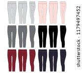 vector template for womens... | Shutterstock .eps vector #1179497452