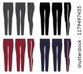 vector template for womens... | Shutterstock .eps vector #1179497455