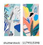 collection of creative... | Shutterstock .eps vector #1179515398