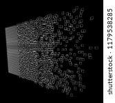 big data visualization. machine ... | Shutterstock . vector #1179538285