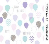 cute seamless pattern with... | Shutterstock .eps vector #1179553618