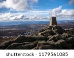 mount keen summit. angus ... | Shutterstock . vector #1179561085