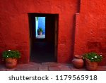 typical colorful colonial...   Shutterstock . vector #1179565918