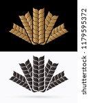 rice illustration graphic...   Shutterstock .eps vector #1179595372