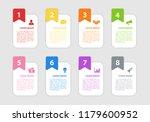 infographic design business... | Shutterstock .eps vector #1179600952
