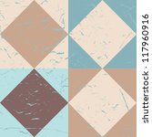 seamless retro geometric pattern | Shutterstock .eps vector #117960916