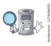 detective cartoon steel trash... | Shutterstock .eps vector #1179636052